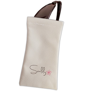 Sunlily Leatherette Sunglass Pouch - #1153