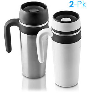 Deluxe Travel Mug Set by Modern Home - #1871