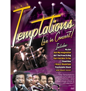 The Temptations Live In Concert DVD - #2477