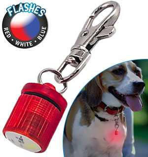 Flashing LED Light Pet Blinker's - For Dogs and Cats