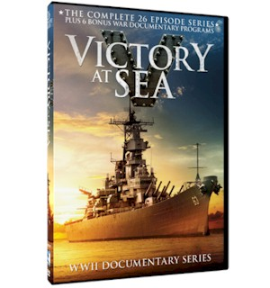 Victory At Sea DVD Set (3 DVD's)
