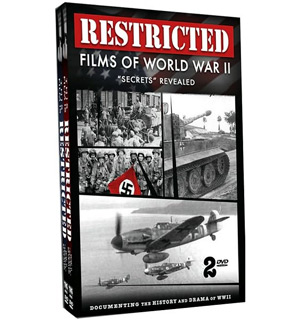 Restricted Films of WWII DVD - #4255