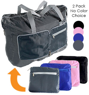 Foldable Duffle Bag - 2 pack - #4444A