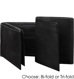 Genuine Leather Marshal Men's Wallets - Choose Trifold or Bifold - #4454