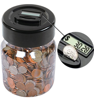 Digital Money Jar - #4458