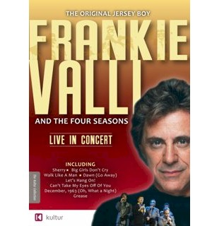 Frankie Valli and The Four Seasons Live In Concert DVD - #4630