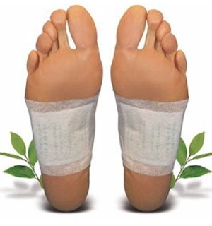 10-Pack of Cleansing/Detox Foot Pads - #4702