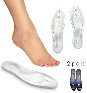 Memory Foam Insoles - 2-Pack - #4759A