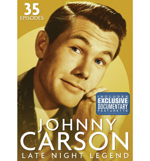 Johnny Carson 4-DVD Collection - Includes Lost Episodes - #4787