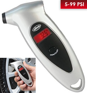 Digital Tire Gauge by <i>Slime</i> - #4925