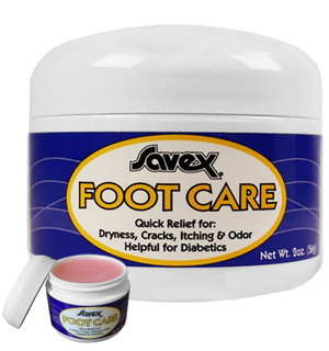 Savex Foot Care Salve - 2 oz Jar - #4940