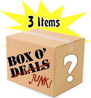 Box O' Deals/Junk - 3 Junky Items - $20.00 Value - #5070
