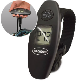 Portable Digital Luggage Scale by Ideaworks - #5081