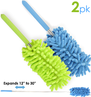 Extend-A-Duster 2-Pack - Microfiber Dusting At Its Best - #5100