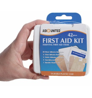 Travel Ready 42 pc First Aid Kit - #5170