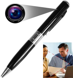 Digital Video Spy Pen with 4G Memory Card - #5394