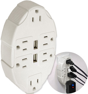 USB Outlet Multiplier by IdeaWorks - #5574