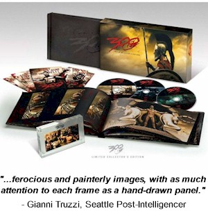 300 Limited Collector's Edition DVD & Extras - #5650