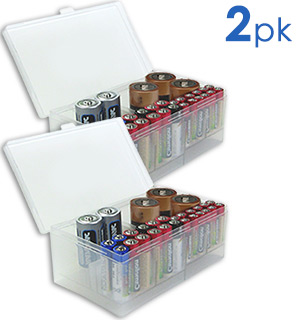 Battery Storage Caddy 2-Pack - #5681A