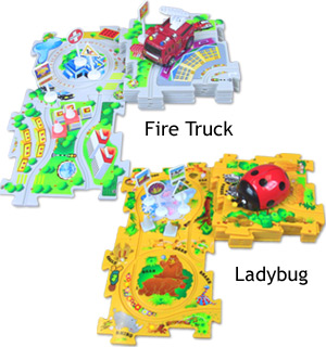 Puzzle Vehicle Play Set - #5686