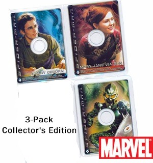 Marvel Comics Spiderman Movie CD Cardz - Collection of 3 - #5709