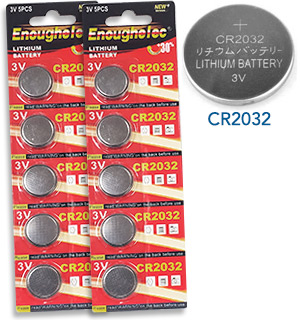 CR2032 Battery 8-Pack