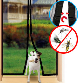 Mag-Mesh Hands-Free Screen Door
