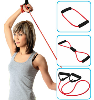 3-PC Exercise Band Set - #5866