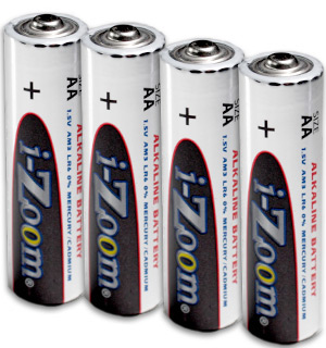 AA Alkaline Batteries 4-Pack - #5895