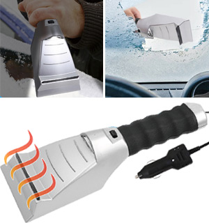 Heated Ice Scraper - #6159
