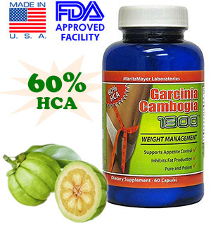 Garcinia Cambogia 1300 - 60 Tablet Count - #6174