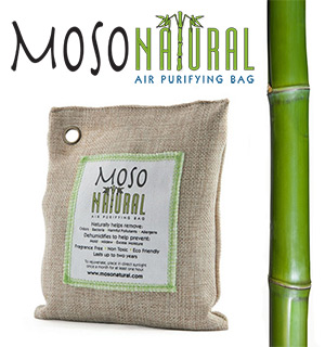 Moso Natural Air Purifying Bag LARGE - 250 Square Feet - #6267