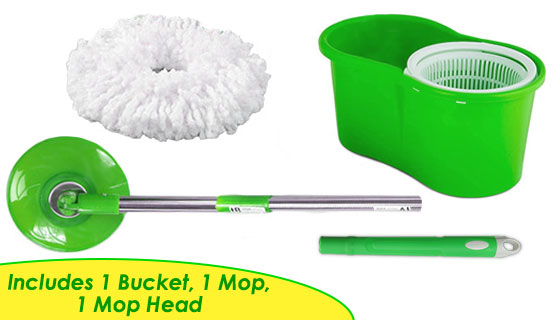 Swirl n Twirl Spin Mop Cleaning System