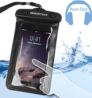 Armortech Waterproof Smartphone Pouch with Audio Out - #6328