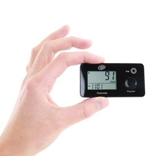 Multi-Function Pocket Pedometer - #6377