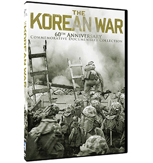 The Korean War 60th Anniversary 4-DVD Collection - #6395