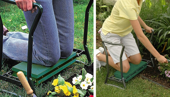 Garden Knee And Back Saver Kneeling Bench And Seat Pulsetv