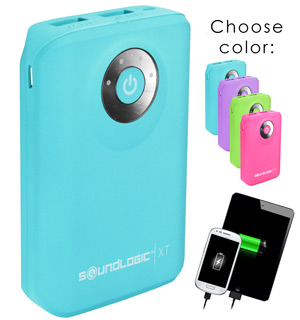 Rechargeable 7800 Neon Power Bank - #6472