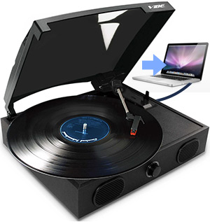 Multi-Function USB Turntable - #6506