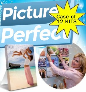 CASE of Picture Perfect Canvas Photo Kits (12 Kits) - #6511-CASE