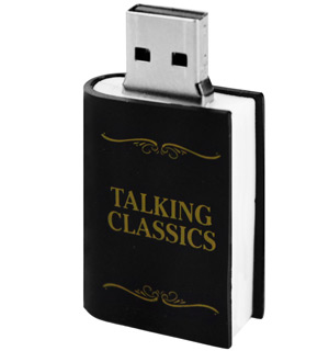 USB Talking Classics - Don't Just Read, LISTEN to a Book - #6549