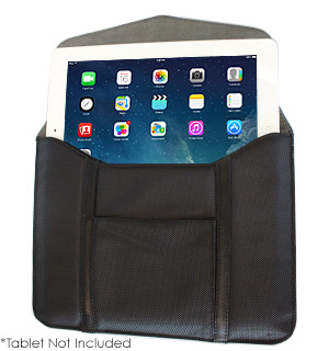 Leather Tablet Case with Pocket - #6554