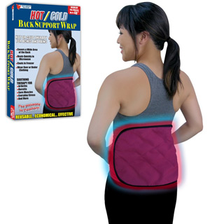 Hot/Cold Back Support Wrap by North American Healthcare - #6559