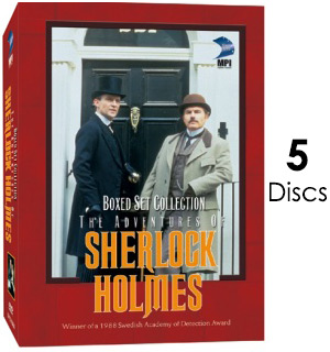 Adventures of Sherlock Homes Boxed DVD Set - #6582