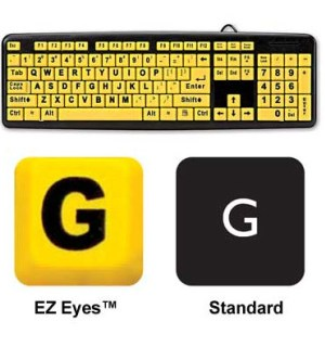EZ Eyes Keyboard - #6597