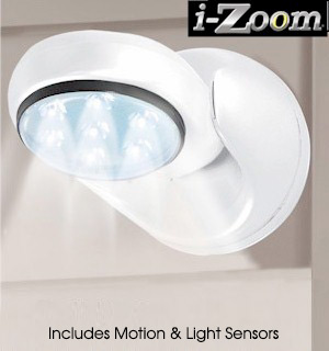 Motion Activated/Light Sensor Cordless Light (Indoor/Outdoor) - #6604