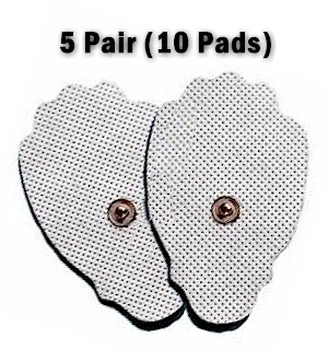 10 Refill Pads - IQ and Smart Relief Massager Pads for all Areas … - #6639