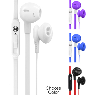 WOW Ear Pods w/ Mic - Superior Sound! - #6643