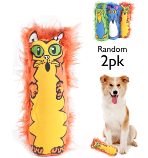 SlyDog Bottle Buddy Dog Toy 2-Pack - #6677A