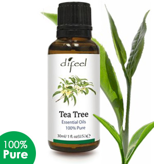 100% Natural Tea Tree Oil with Vitamin E - #6689